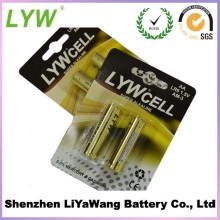 Qualified approved eco-friendly lr6 size aa am3 1.5v battery alkaline battery 4pcs/blister card from China