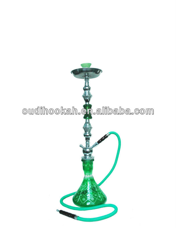 crystal large shisha high quality factory price two hoses four hoses hookah