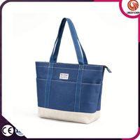 Most popular classical fashion round shopping bag tote bags canvas bags