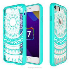 Custom UV Digital Printing PC TPU Cell Phone Case Cover for iPhone 7 Plus High Quality Printing