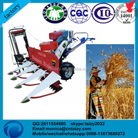 walk behind wheat corn sesame straw cutting machine binder,combined harvester reaper baler for reed hay