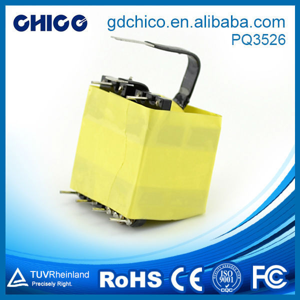 PQ3526 High frequency transformer vertical type transformer safety devices