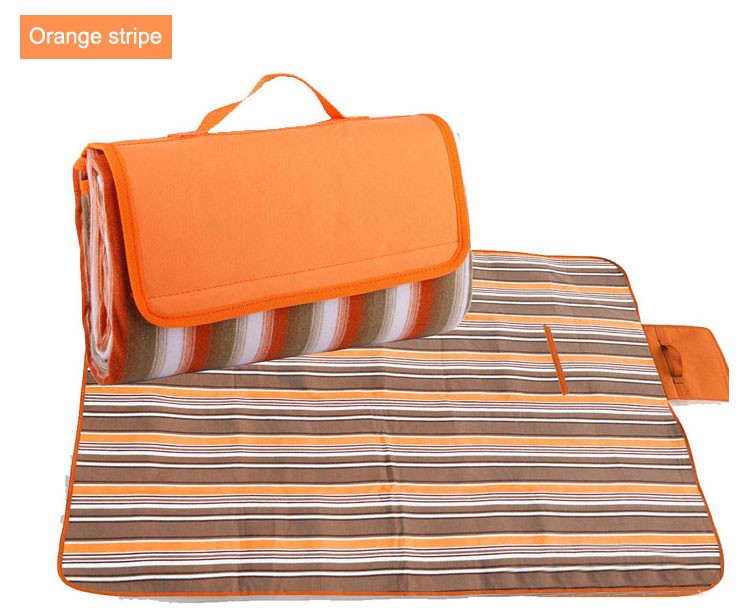 Outdoor Waterproof Picnic Blanket Sand Proof Beach Blanket Camping Mat 77&Quot X 59&Quot Inches