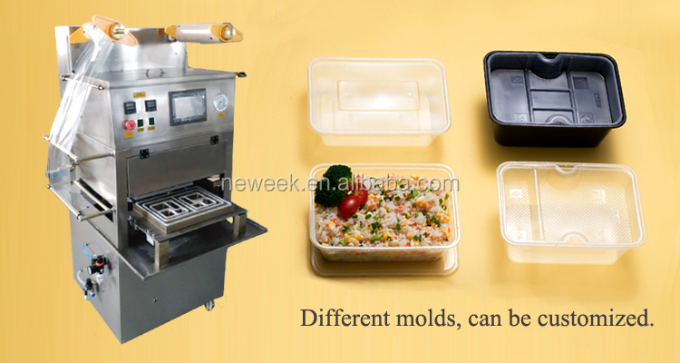 NEWEEK fully automatic cup vacuum sealer machine food