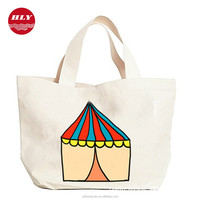 Promo Canvas Tote Shopping Bags With Customed Logo