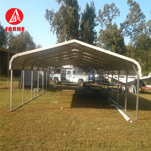 steel structure car shed prefabricated car garage tents metal carport