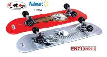 long board skate board flying skate board carver skateboard