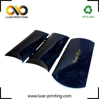 Good quality pillow box packaging / hair extension with handles / custom print pillow box