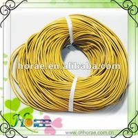 wholesale 2mm round jewelry leather cord