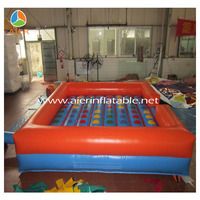 2014 inflatable twister game for adult, giant inflatable twister