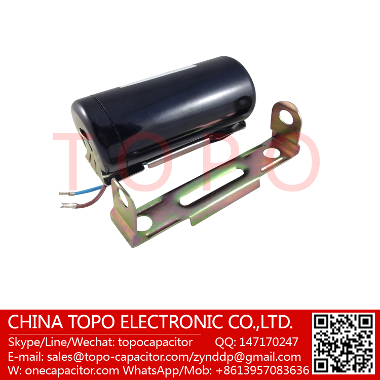 Start capacitor 200 240 mfd uf 110 125v round ac electric for Start capacitors for electric motors