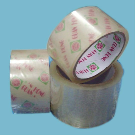 3mm wide available transparent solvent based tissue paper double sided tape