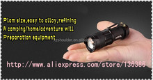 Wholesale&Retail Mini LED Torch 7W 400LM Q5 LED Flashlight Adjustable Focus Zoom flash Light Lamp