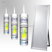special mirror use non-toxic antimildew neutral clear non-polluting mirrors silicone sealant