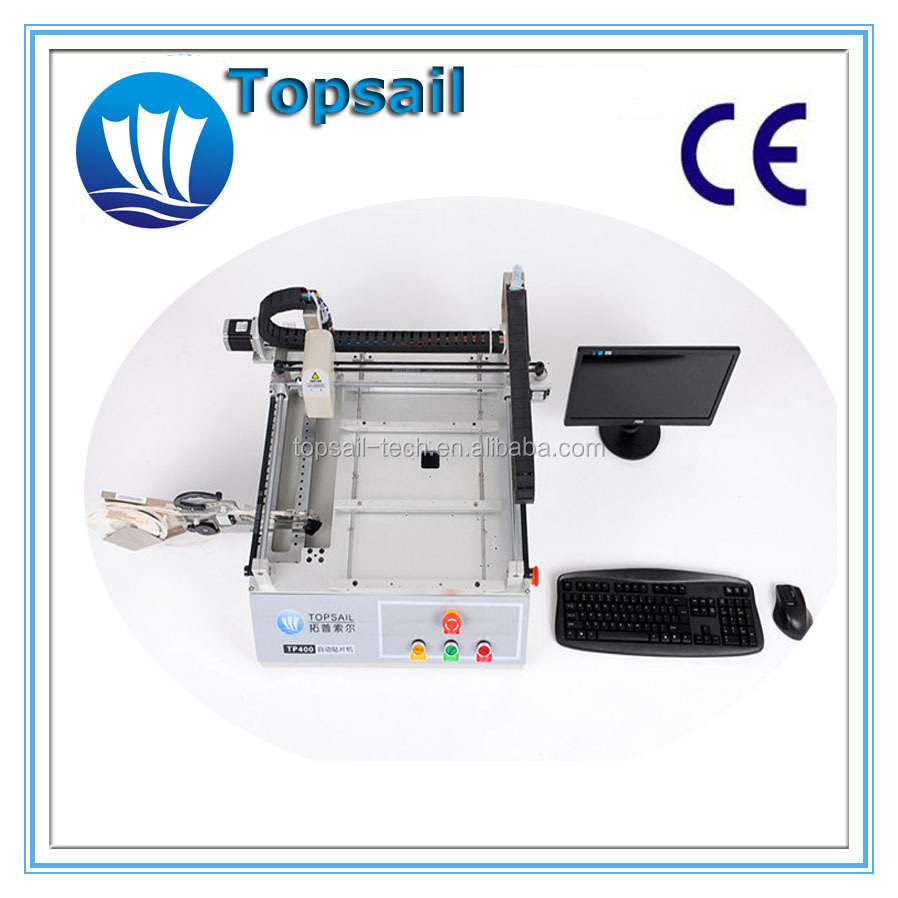 Topsail High stability Desktop pick and place equipments for LED