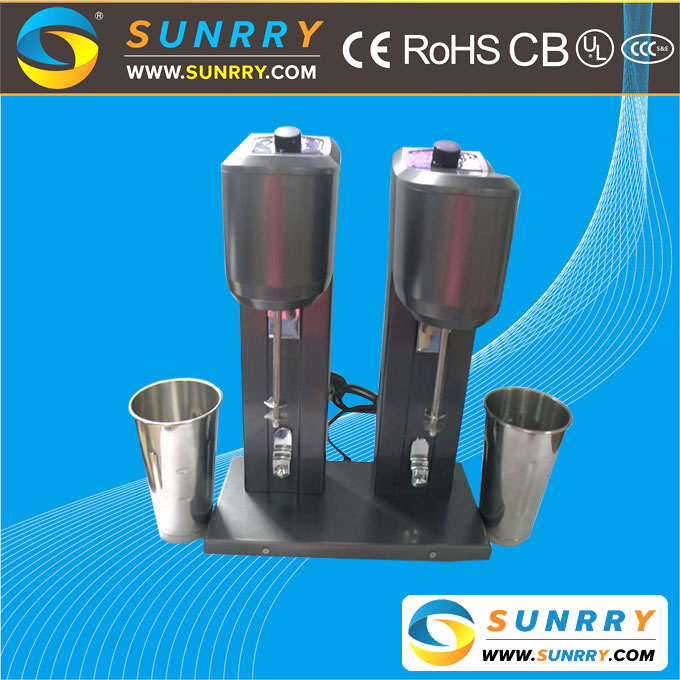 Factory sale originality professional stainless steel double cup milk shake shaker machine automatic