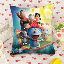 Custom made printed Doraemon pillow China manufacturer