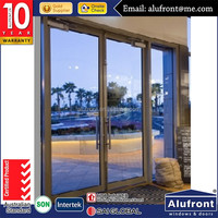 MODEL High Quality UPVC swing doors and windows for energy saving