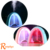 Ranphys Creative Rainbow Message Board USB Air Humidifier 400Ml Colorful Night Light Oil Essential Aroma Diffuser