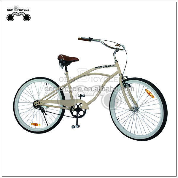 bicycle manufacturers 26inch men style beach cruiser