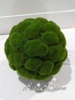 High quality hot selling Manufacturing plant for decoration UV-proof artificial moss ball with competive price