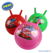 Many color kids toy expandable ball custom inflatable jumping ball for children