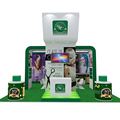 Detian offer fashion booth exhibition 20x20 trade show stand design