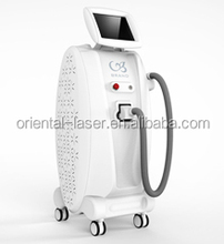 Japanese people like vertical Beauty Machine for face and body Pure Pulse diode laser hair removal beauty device