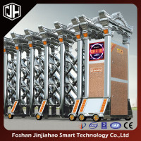 Accordition Door Stainless Steel Electric Foldable