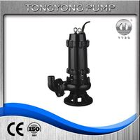 industry sluge school wastewater discharge sewage submersible drainage pump