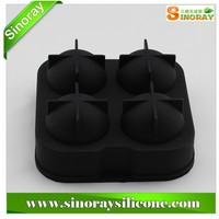 New design silicone ball shape ice cube tray mold,ball shaped ice cube tray