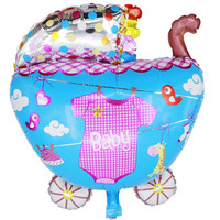 cheap Baby carriage balloon for baby show