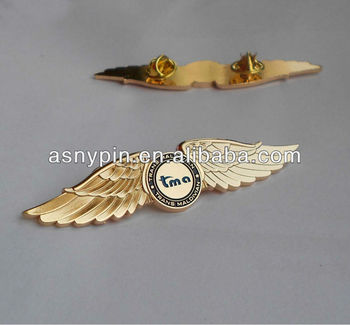 airlines wings flight pilot hat badge