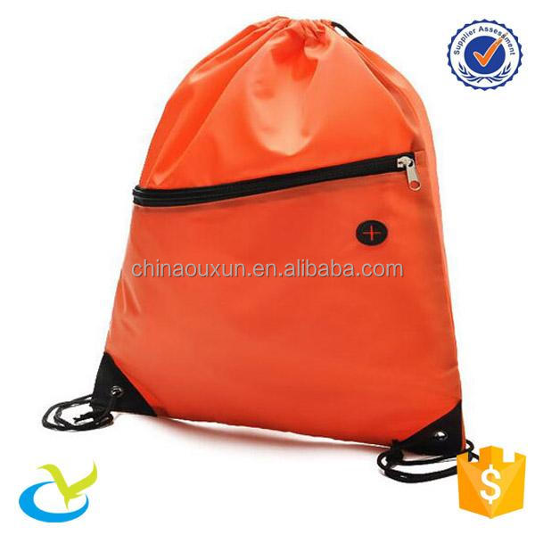 Wholesale blank eco cinch drawstring backpack bag