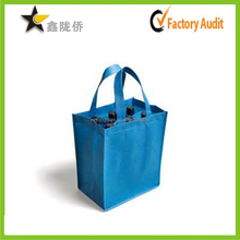 alibaba website accept custom new good cheap eco durable 6 bottles non woven wine bag, wine bag non woven