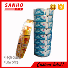 Transparent bopp Plastic Stretch Wrap Film Shrink Film for label