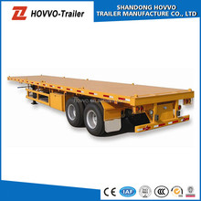 20-48ft tri or 2 axles container trailer chassis for heavy duty ( flatbed optional) with twist lock