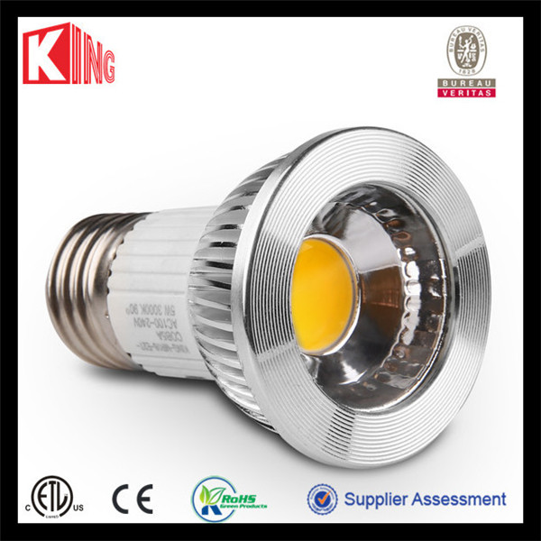 UL listed led residential lighting par20 led lamp 5w DIM