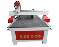Lanlyn 1325 vacuum table 3d wood cnc router price, wood pattern making machine, wood decorate router machine