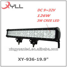 20 inch 126W CREE LED Work Light Bar 8820LM Spot Beam Driving 4x4 Offroad Lights for ATV Truck SUV