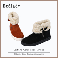 Wholesale custom rubber outsole flossy women shoes ankle boots wholesale
