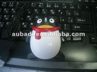 Cute QQ Shape Wired Kids laptop Mouse