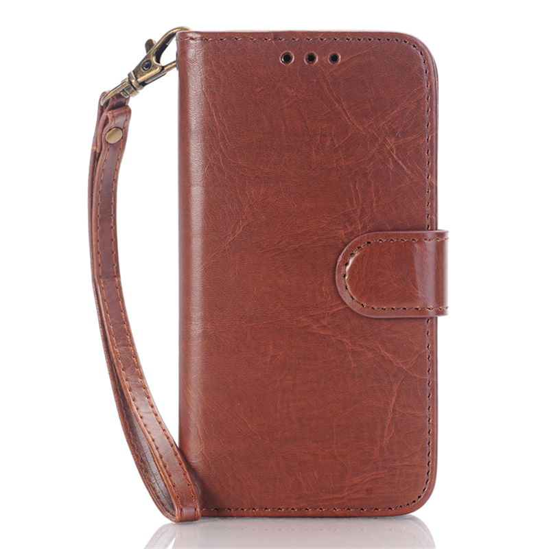 For LG K10 Leather Case Luxury PU Wallet Smart Phone Cover Cases With Card Holder for LG K4
