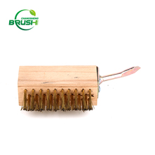 Factory wholesale customized Eco-friendly patio steel wire weeding brush