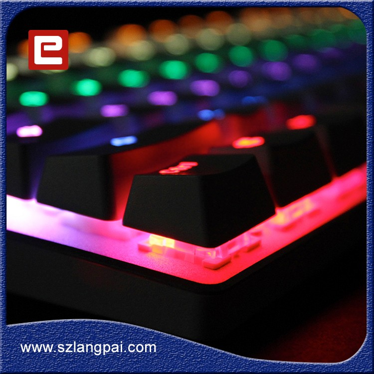 PC Peripherals Keyboard Gaming RGB With Removable Switches