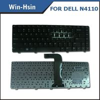 US/SP/RU layout laptop keyboard for dell inspiron n4110 n4120 n4040 n4050 m4050 m411r 14VR keyboard