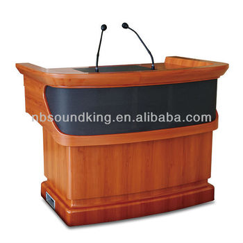 Multi-function wooden multimedia intelligent lectern PT01