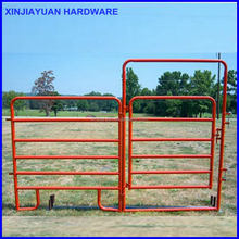 Heavy duty colour painted horse panels / goat farming gate /livestock fence