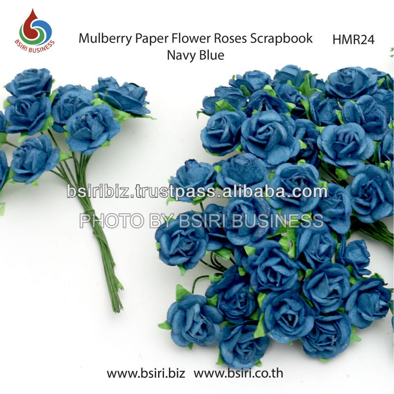 scrapbooking mulberry paper flowers