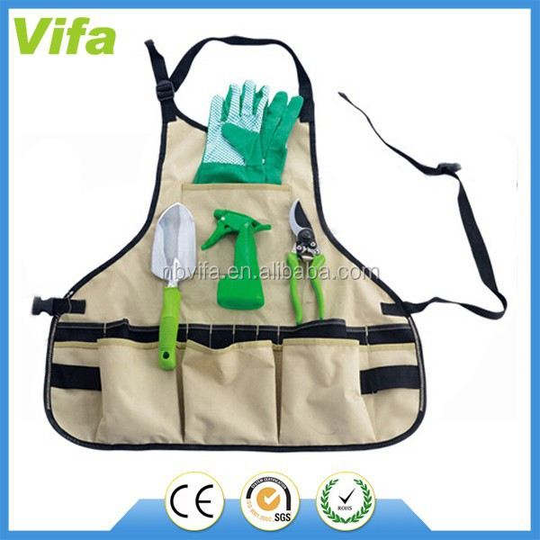 gardening apron with tools set for promotion